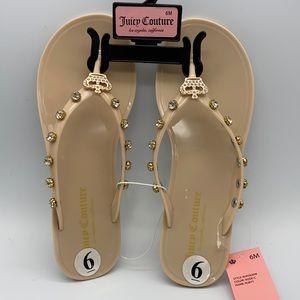 Juicy Couture Flip Flops Size 6
